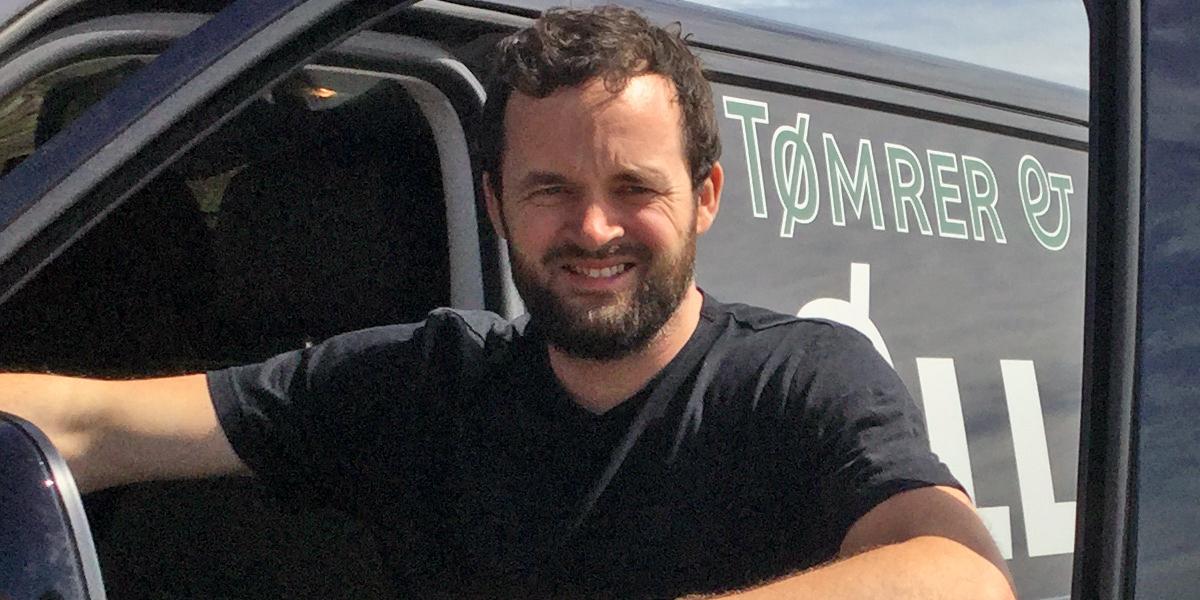 Rasmus Øllgaard - Tømrermester hos Tømrer & Snedkerfirma Øllgaard