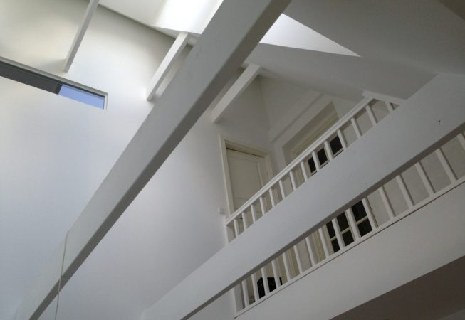 Nyt loft lavet af Tømrer- & Snedkerfirma Øllgaard i Esbjerg