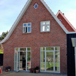 Nyt hus bygget af Tømrer og Snedkerfirma Øllgaard i Esbjerg